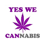 Yes We Cannabis Purple