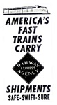 America's Fast Trains, Carry Railway Express.