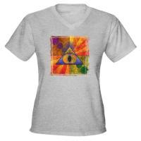 Women's V Neck T Shirts