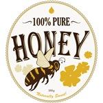 yellow Honey Label