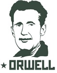 Orwell 1984 green