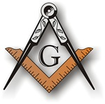 Masonic Square and Compass #23