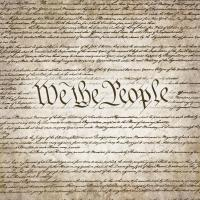 We The People w/ Constitution