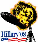 Anti Hillary '08 Hindenberg