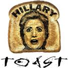 Hillary - Toast!