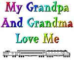 Grandpa and Grandma Love Me