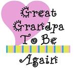 Great Grandpa To Be Again Stripes