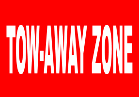 HUMOR/TOW-AWAY ZONE