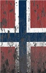Wood-Rotted Norway Flag