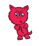 Angry Pink Kitty