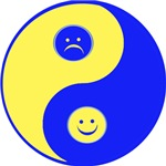Smiley Yin Yang