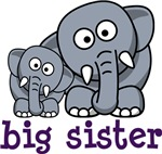 Big sister elephants