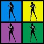 Color Peace Woman Gear
