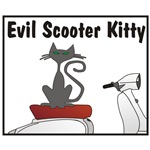 Evil Scooter Kitty