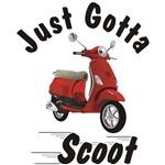 Vespa LX Red Just Gotta Scoot