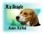 <h5>My Beagle Makes My day</h5>