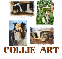 Collie Gifts of Art