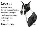 Great Dane (Mantle) Love Is