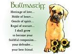 Bullmastiff Heritage of Love Gifts