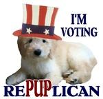 Vote RePUPlican Goldendoodle