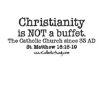 Christianity is not a buffet
