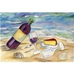 Wine and Cheese Beach Party