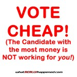 VOTE CHEAP!