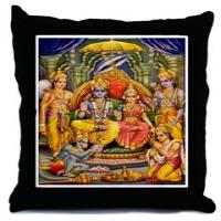 New Art! Hindu Art Throw Pillows