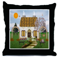 Irish Village Series© Throw Pillows