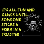 Fork In A Toaster