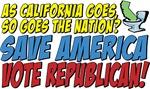 Save America, Vote Republican!