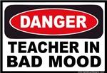 Danger Teacher in Bad Mood