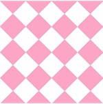 Retro American Diner Pink White
