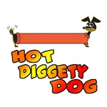 Hot Diggety Dog Daschund