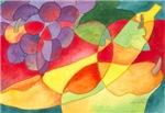 Fruit Montage Watercolor