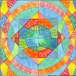 Sacred Geometry Watercolor