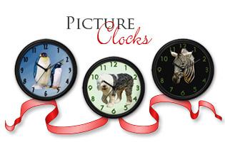 <b>PICTURE WALL CLOCKS</b>