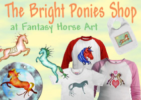 Capriole Horse and Other Bright Ponies