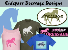 Sidepass Dressage T-shirts & Gifts