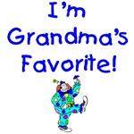 I'm Grandma's Favorite Shirts, Bibs, Onesie