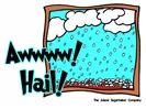 Aww Hail Storm
