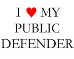 I Love My Public Defender Bags and Wallets