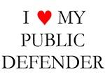 I Love My Public Defender Christmas