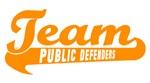Orange Team Softball Jerseys and Caps