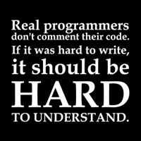 Real Programmers Shirts