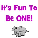 It's Fun To Be One!  Elephant