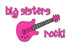 Big Sisters Rock! pink guitar