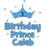 1st Birthday Prince CALEB!
