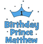 1st Birthday Prince MATTHEW!