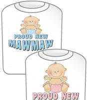 Proud New MawMaw T-shirt Design